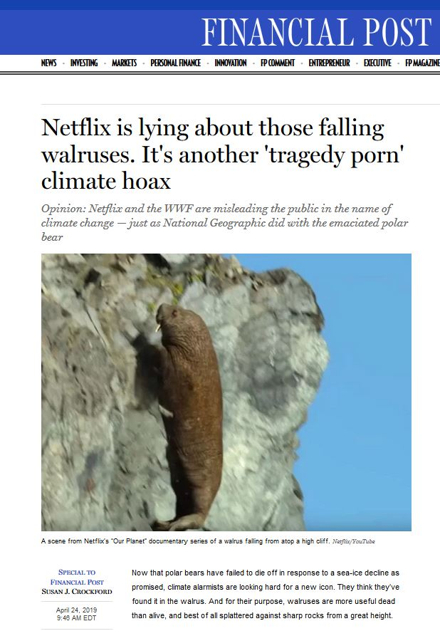 Netflix is lying_FP headline 24 April 2019