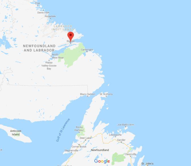 Rigolet location_Google maps