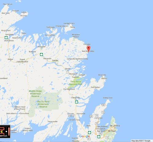 Wesleyville location nfld
