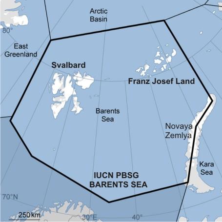 Barents Sea with Franz Josef Land