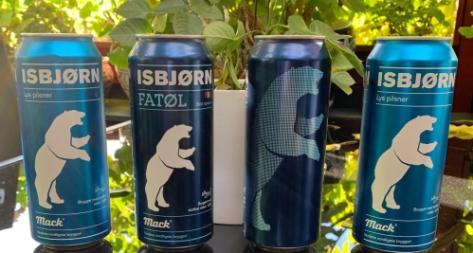 Polar bear beer ISBJORN_Jan Erik OSLO 23 Oct 2019