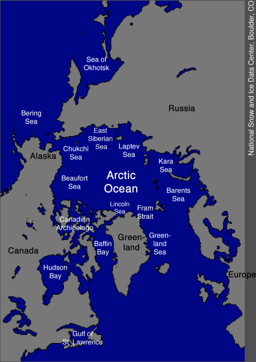 Arctic Seas_Regions_Labelled_NSIDC