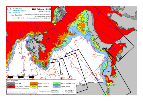 Barents Sea ice 2020 Feb 12 NIS closeup