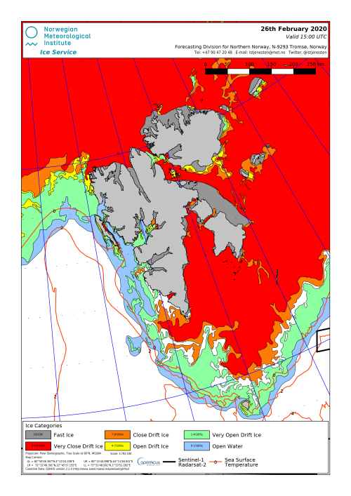Svalbard ice extent 2020 Feb 26_NIS