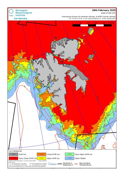 Svalbard ice extent 2020 Feb 28_NIS