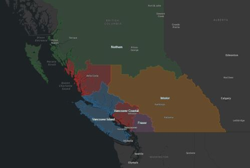 BC health regions