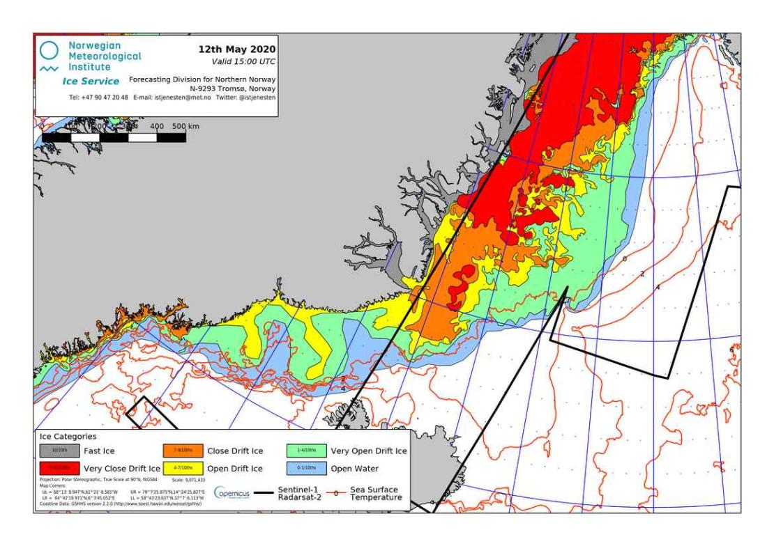 Barents Denmark Strait sea ice 2020 May 12_NIS closeup