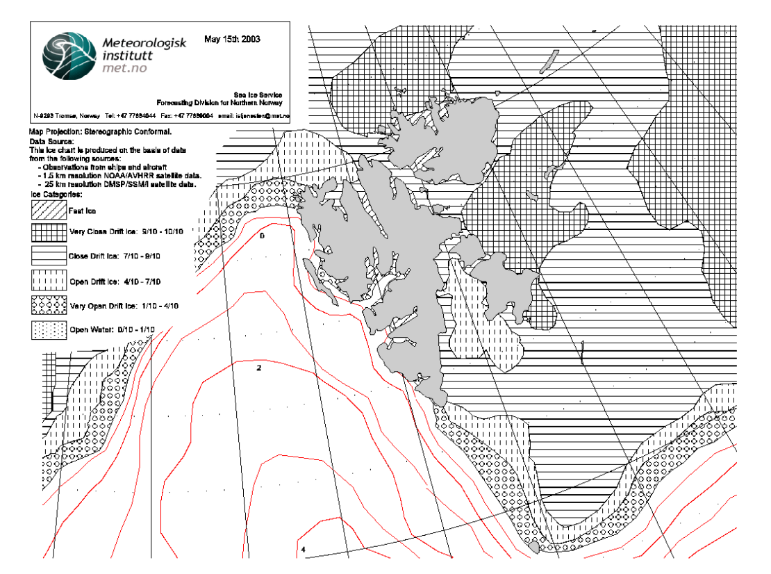 Svalbard ice extent 2003 May 15_NIS archive