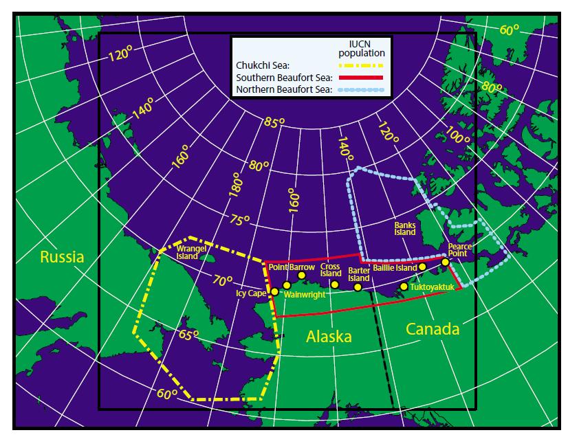 Amstrup et al 2005_Fig 1 map of CS_SB_NB boundaries