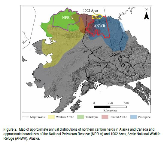 Pearse et al. 2018 ANWR research USGS report fig 2