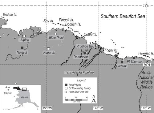 Smith et al. 2020 fig 1 polar bear dens S Beaufort